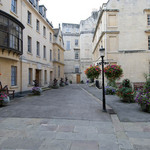 A photograph of fine stone Georgian houses in the city of Bath, England