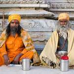 Sadhus In Udaipur