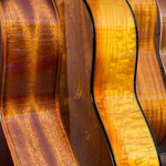 photo of guitars from the side