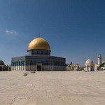 photo of the Dome of the Rock and other buildings on the Temple Mount in Jerusalem