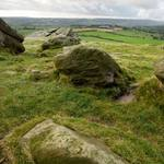 Almscliff Cragg In Yorkshire