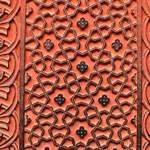 Carving At Agra Fort