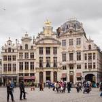 buildings in La Grand Place - Brussels