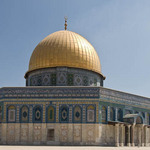 close up photo of the Dome of the Rock on the Temple Mount in Jerusalem
