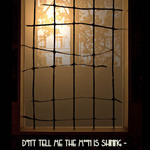 photo of a window by moonlight with a quote by Anton Chekhov - Don't tell me the moon is shining - show me instead the glint of light on broken glass.